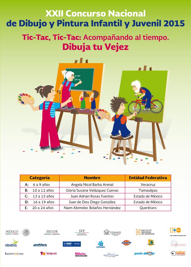 XXII Concurso Nacional de Dibujo y Pintura Infantil y Juvenil 2015