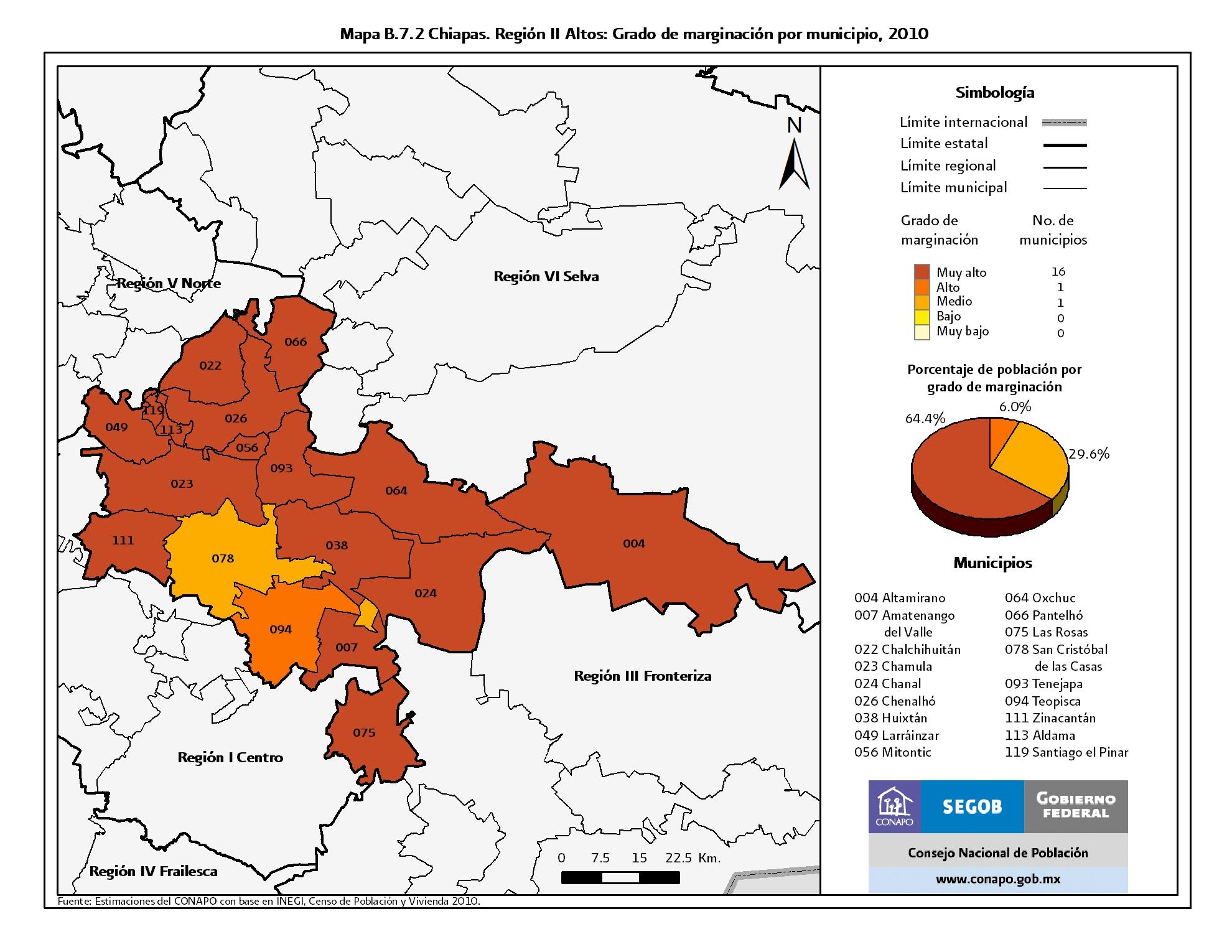 ndice de marginacin por entidad federativa y municipio 2010